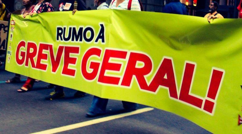 Centrais sindicais convocam greve geral para esta 6ª feira; veja quem deve parar