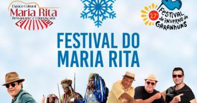 ESPAÇO CULTURAL MARIA RITA NO FIG – FORRÓ DE QUINTA A DOMINGO