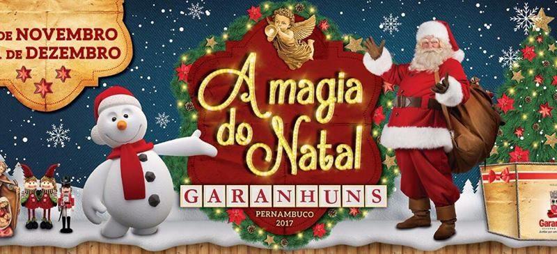 Prefeitura de Garanhuns divulga a PROGRAMAÇÃO do NATAL 2017