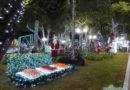 Encantos de Garanhuns: Praça Solto Filho(da fonte luminosa) na Magia do Natal 2017