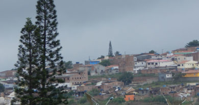 Manhã de Janeiro chuvosa em Garanhuns