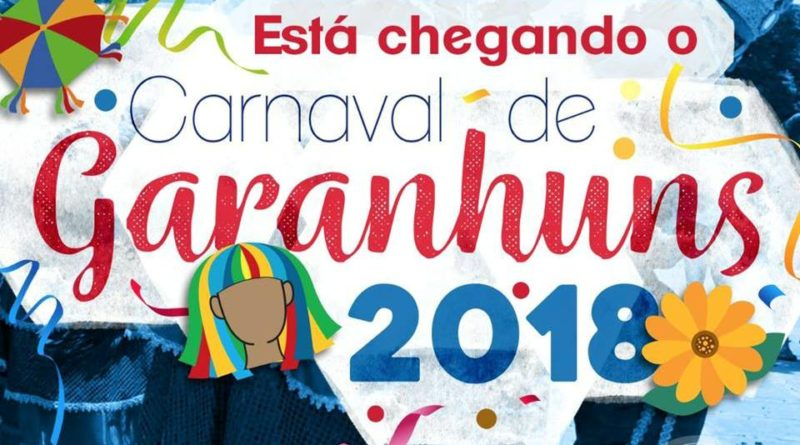 Confira a programação do Carnaval 2018 em Garanhuns